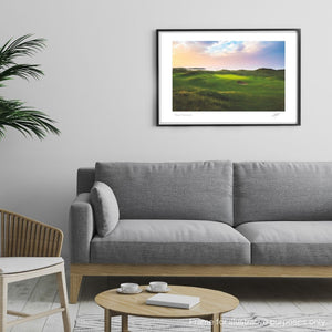 Framed photography print of Portstewart Golf Club by Adam Toth