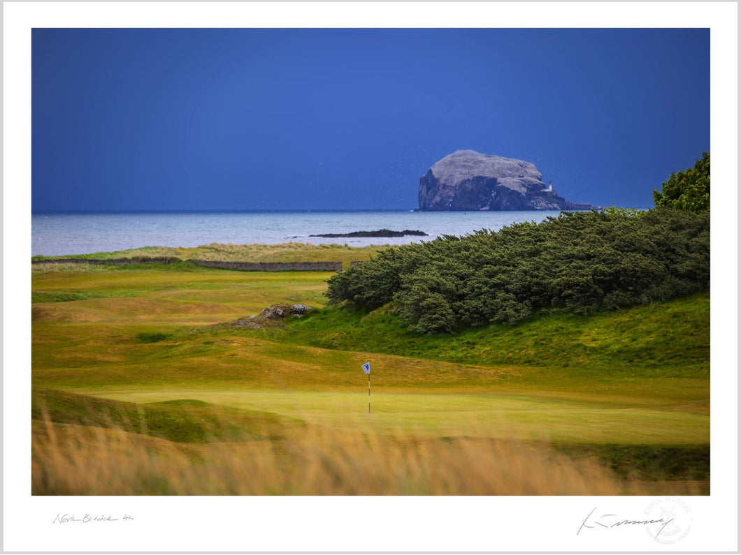 North Berwick 4th, Fine Art Print by Kevin Murray