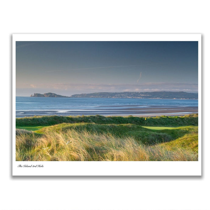 Photography print of The Island Golf Club by Kevin Markham