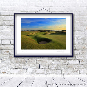 Muirfield 13th, Fine Art Print by Kevin Murray