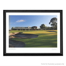 Load image into Gallery viewer, Framed suggestion of The Metropolitan Golf Club print by Gary Lisbon