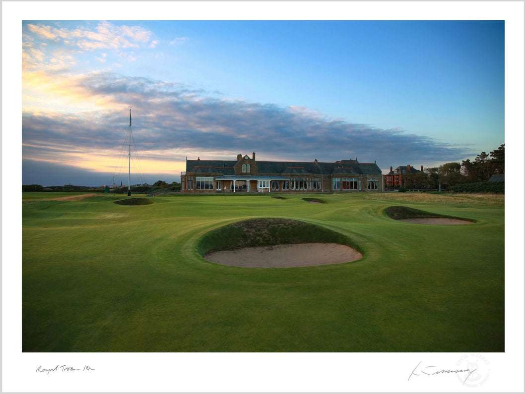 Royal Troon 18th, Fine Art Print by Kevin Murray