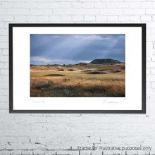 Load image into Gallery viewer, A framed photograph of the 2nd hole at Carnoustie as shot by Kevin Murray.