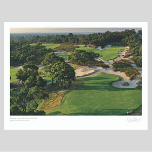 A fine art print of Peninsula Kingswood Golf Club by Gary Lisbon