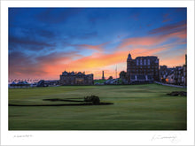 Load image into Gallery viewer, St Andrews Old Course 18th Dusk - Kevin Murray Golf Photography