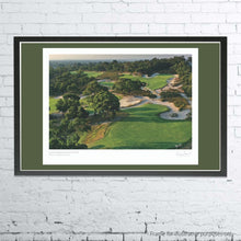 Load image into Gallery viewer, A framed and mounted print of Peninsula Kingswood Golf Club by Gary Lisbon