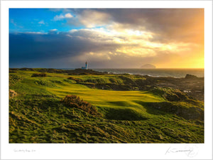 Turnberry Ailsa 11th, Fine Art Print by Kevin Murray