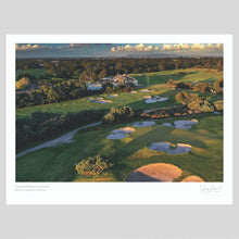 Load image into Gallery viewer, A fine art print of The Royal Melbourne Golf Club West