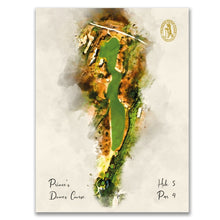 Load image into Gallery viewer, Print of Dunes Hole 5 at Prince's Golf Club