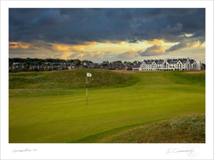 Carnoustie Golf Links 1st - Kevin Murray Golf Photography