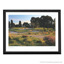 Load image into Gallery viewer, Yarra Yarra Golf Club - Print in black frame
