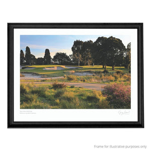 Yarra Yarra Golf Club - Print in black frame