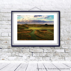 Royal Troon Golf Club Hole 8, 'Postage Stamp' - Kevin Murray Golf Photography