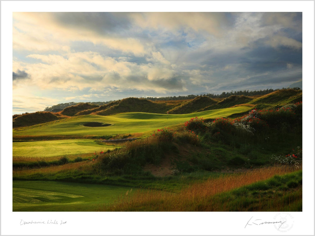 Dumbarnie Links 2nd, Fine Art Print by Kevin Murray