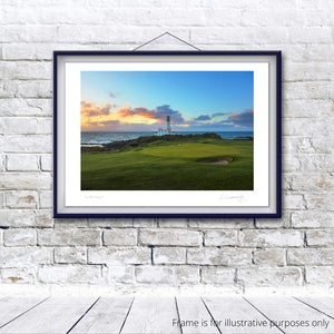 Turnberry Ailsa Golf Course 9th - Kevin Murray Golf Photography