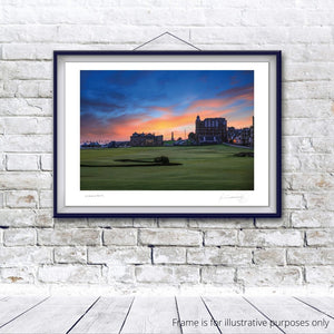 St Andrews Old 18th, Fine Art Print by Kevin Murray