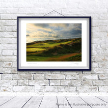 Load image into Gallery viewer, Dumbarnie Links 2nd, Fine Art Print by Kevin Murray