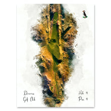 Load image into Gallery viewer, Art Print of Durness Golf Club Hole 4