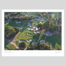 Load image into Gallery viewer, A fine art print o Huntingdale Golf Club  by Gary Lisbon Sandbelt Collection