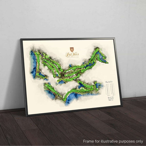 Lake Nona Golf & Country Club Official Framed Print by Joe McDonnell