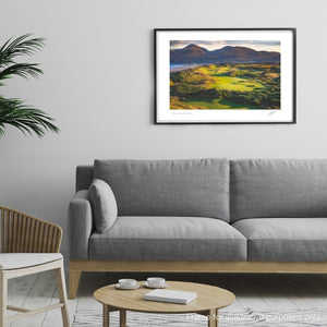 Framed photography print of Old Head Golf Links by Adam Toth