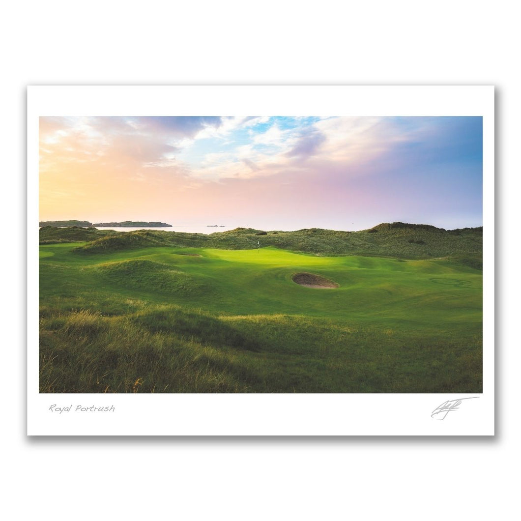 Portstewart Golf Club photography print by Adam Toth