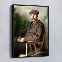 Load image into Gallery viewer, JAMES BRAID (1904) - COLOURISED PRINT OR CANVAS