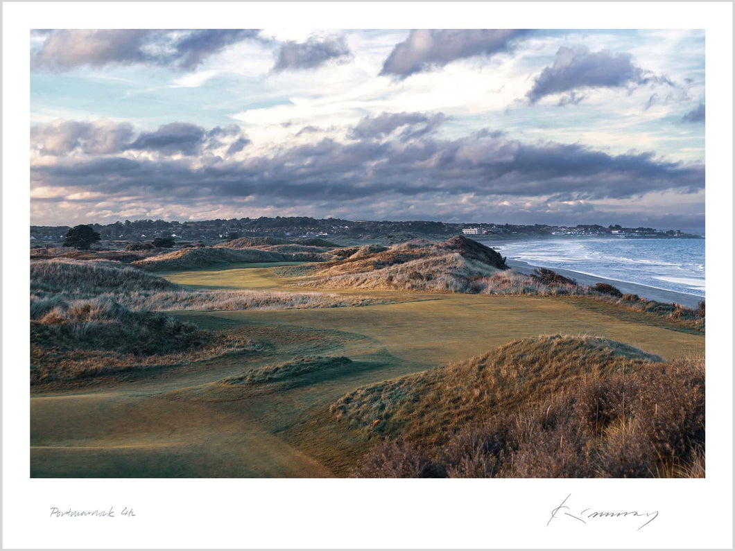 A photo of the 4th hole at Portmarnock taken by Kevin Murray