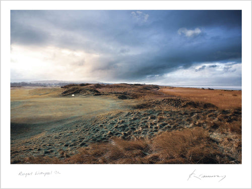 A photo of the Royal Liverpool Golf Club Hoylake 12th Hole - Limited Edition Fine Art Print by Kevin Murray