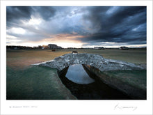 Load image into Gallery viewer, A photograph of Swilcan Bridge at St Andrews by Kevin Murray.