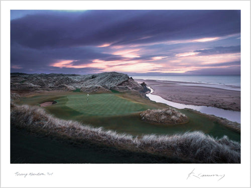 A photo of the 3rd at Trump Aberdeen by Kevin Murray.