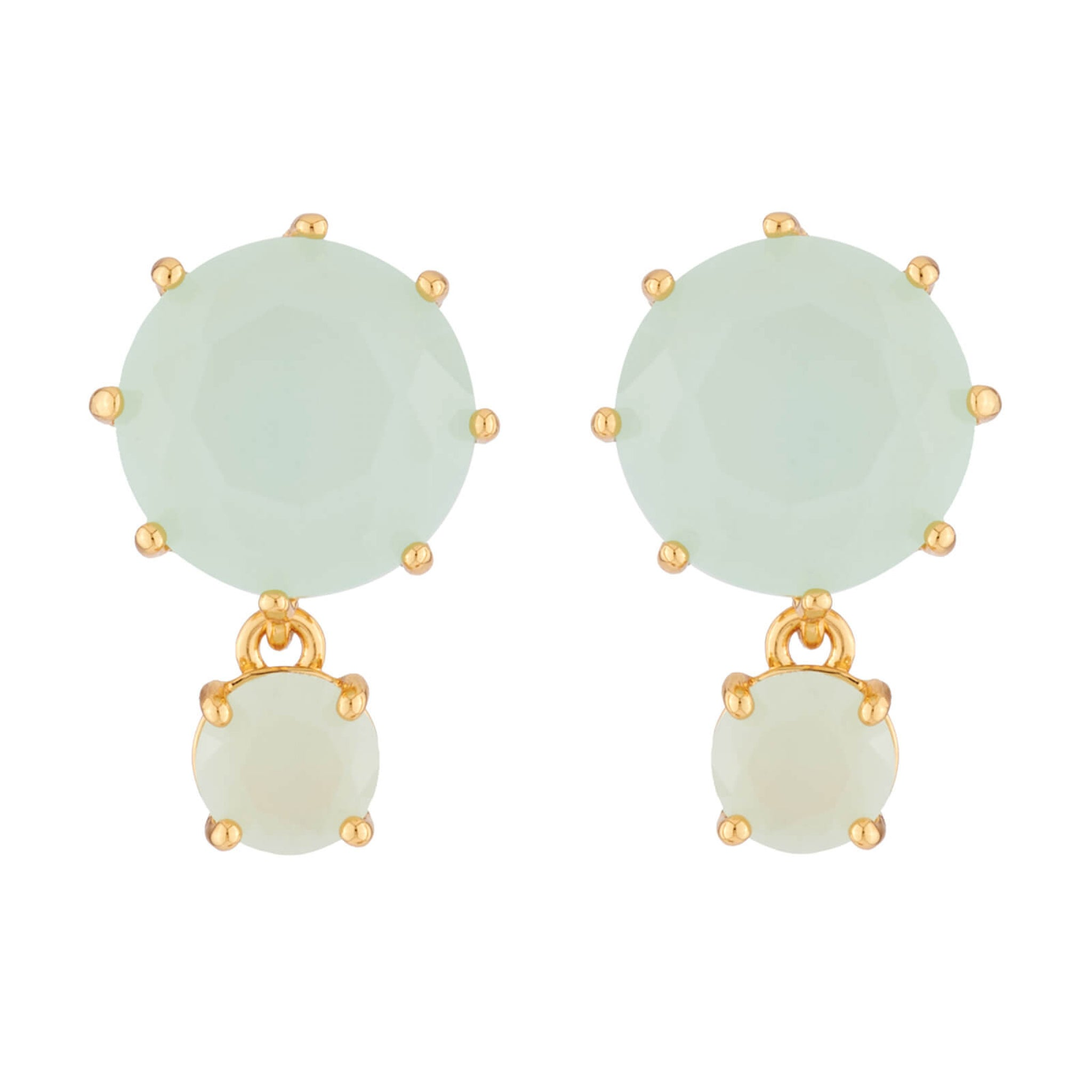 La Diamantine Earrings with 2 Stones