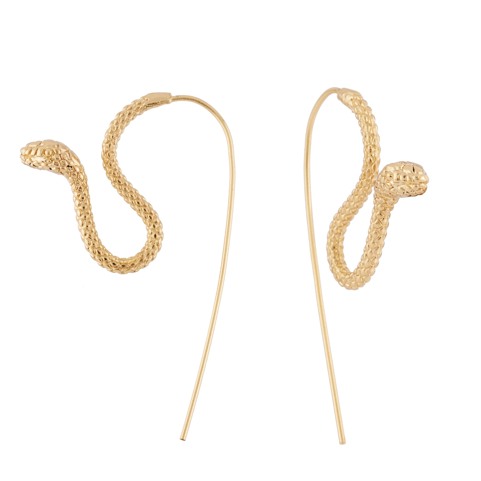 Slithering Viper Earrings