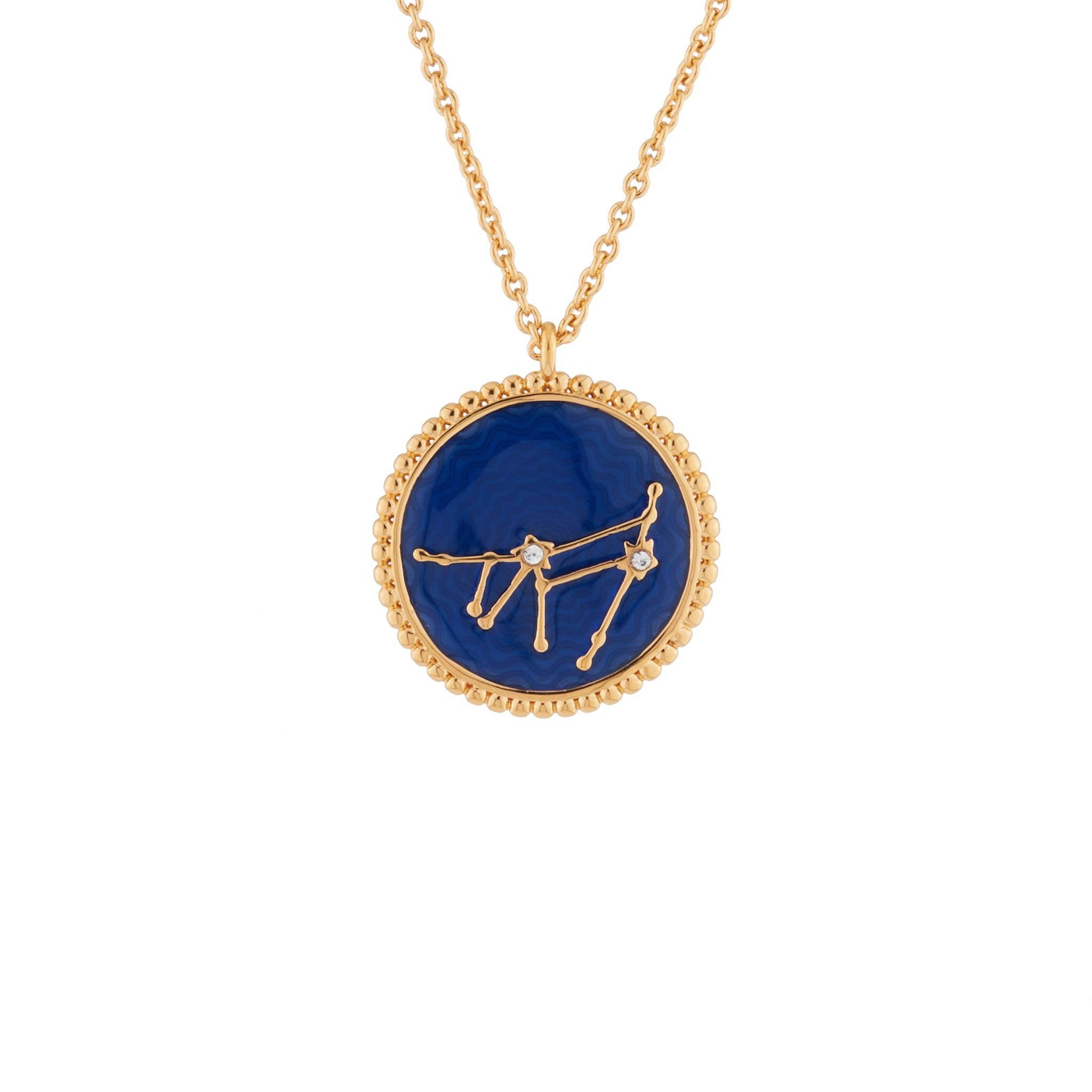 Pendant Necklace Capricornus Zodiac Sign