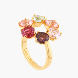 La Diamantine 6 Round Stones Thin Ring