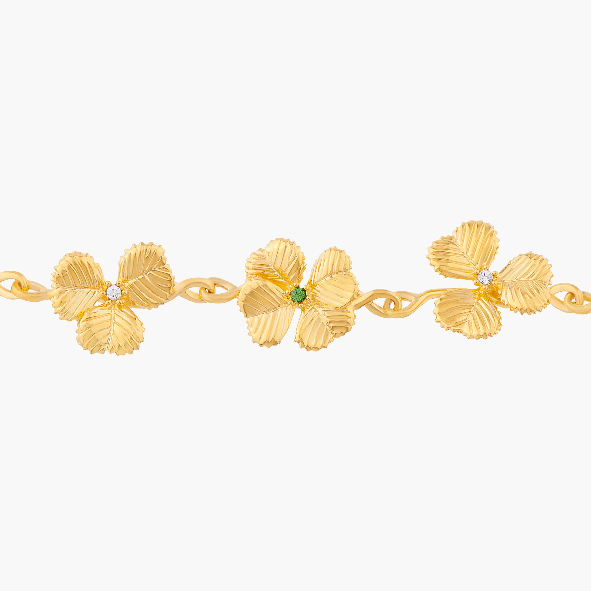 Clovers Thin Bracelet