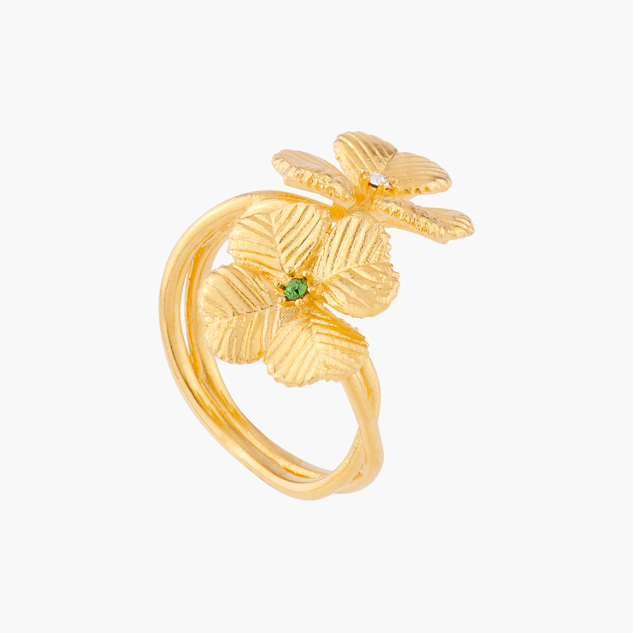 Clovers Adjustable Ring