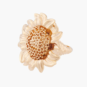 Sunflower Cocktail Ring