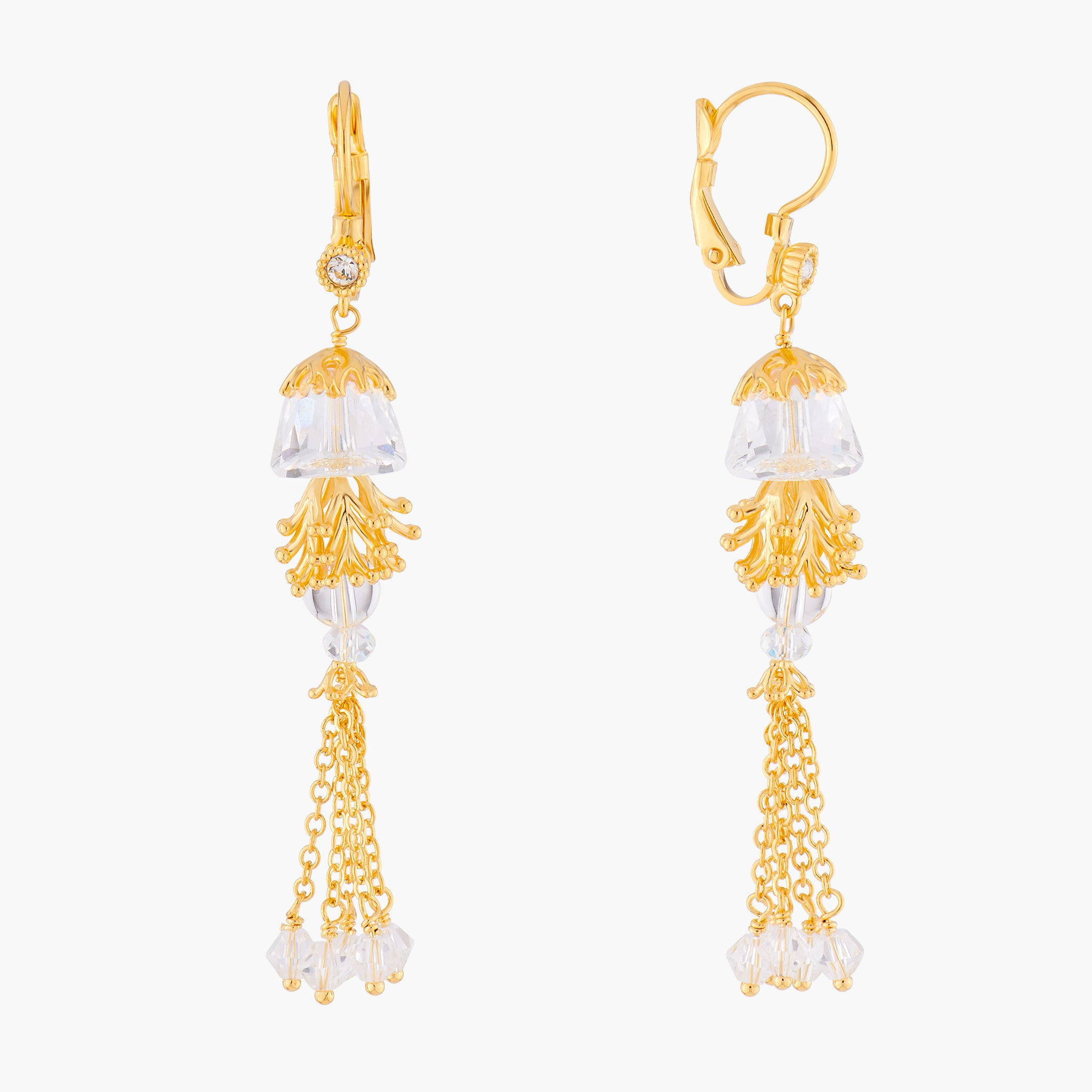 Jellyfish Dormeuses Earrings