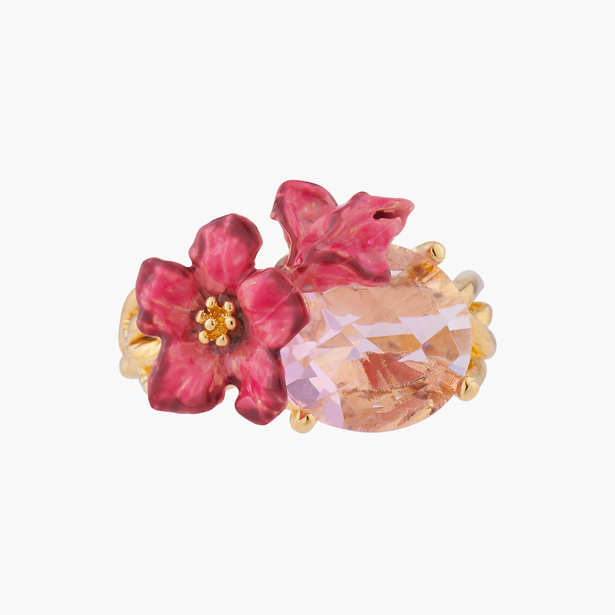 Oleander Blossoms Cocktail Ring