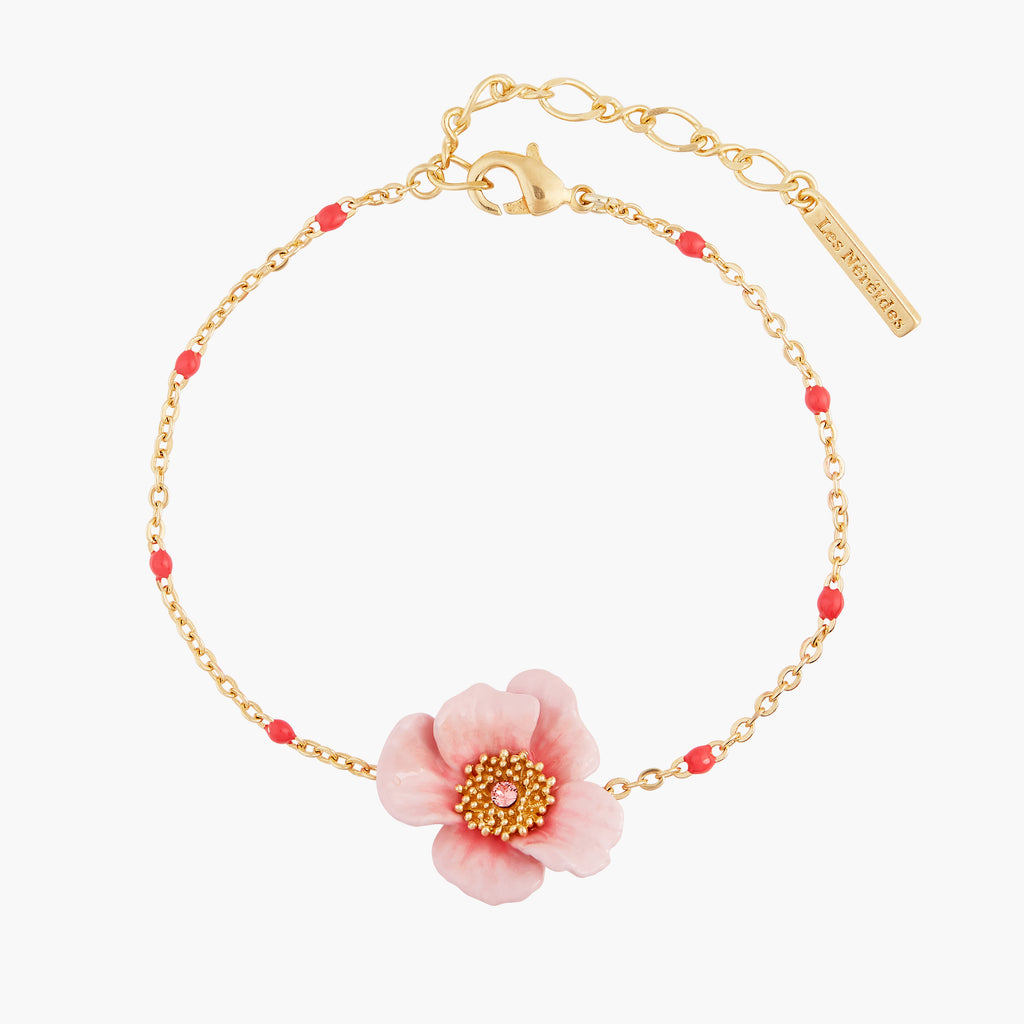 Blooming Roses Thin Bracelet