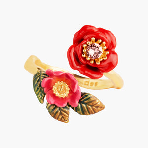 Wild Roses Adjustable Ring
