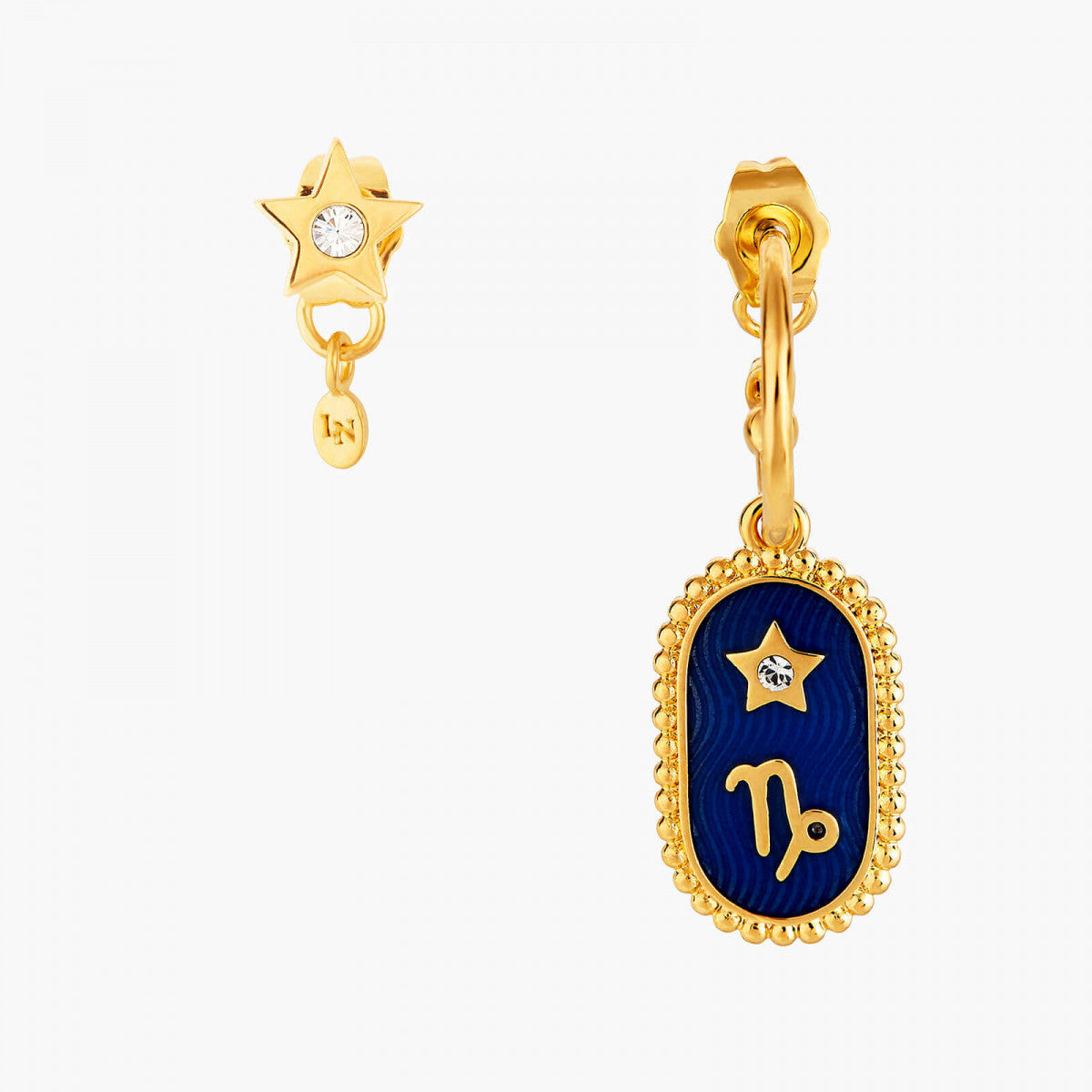 Capricorn Zodiac Sign Stud Earrings