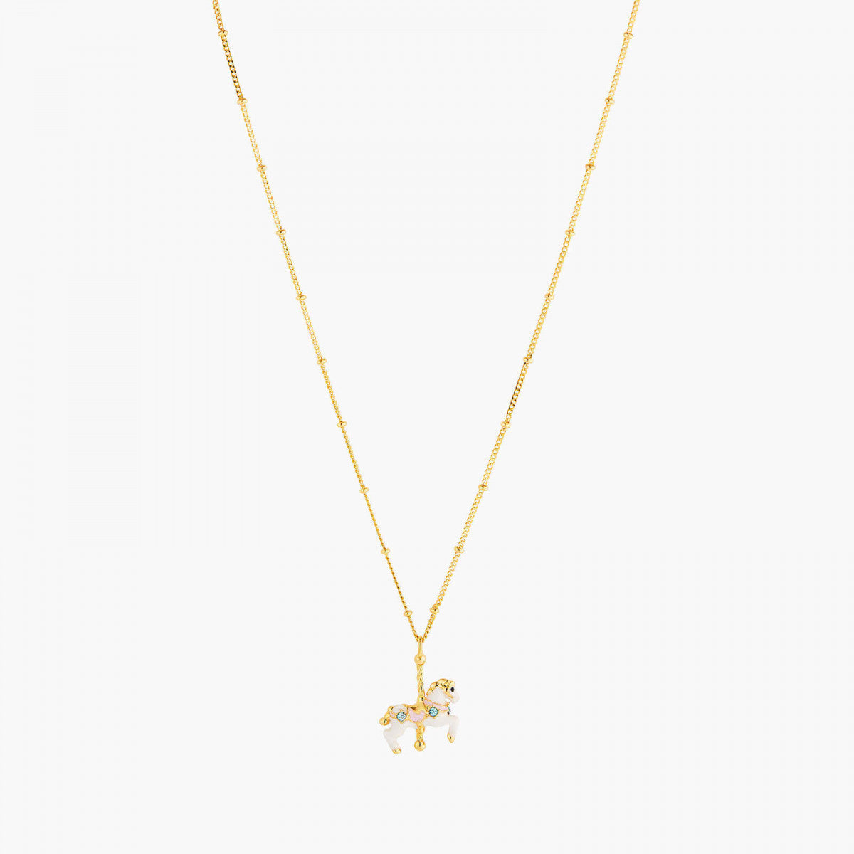 Carousel Horse Thin Necklace