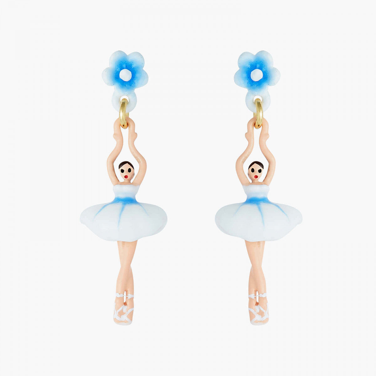 Mini Ballerina Forget-me-not Stud earrings