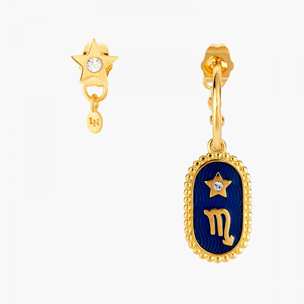 Scorpio Zodiac Sign Stud Earrings