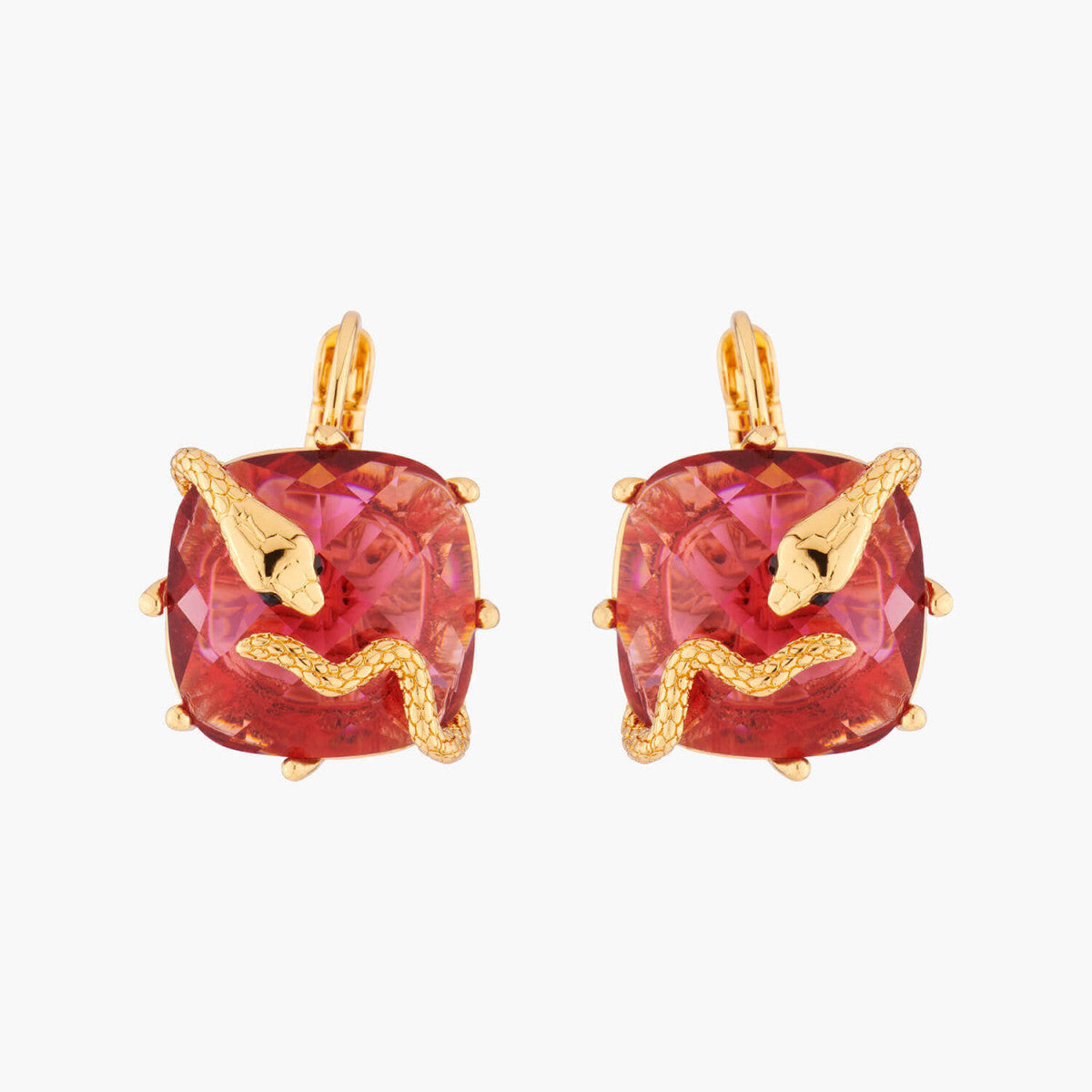 Serpentine Dormeuses Earrings