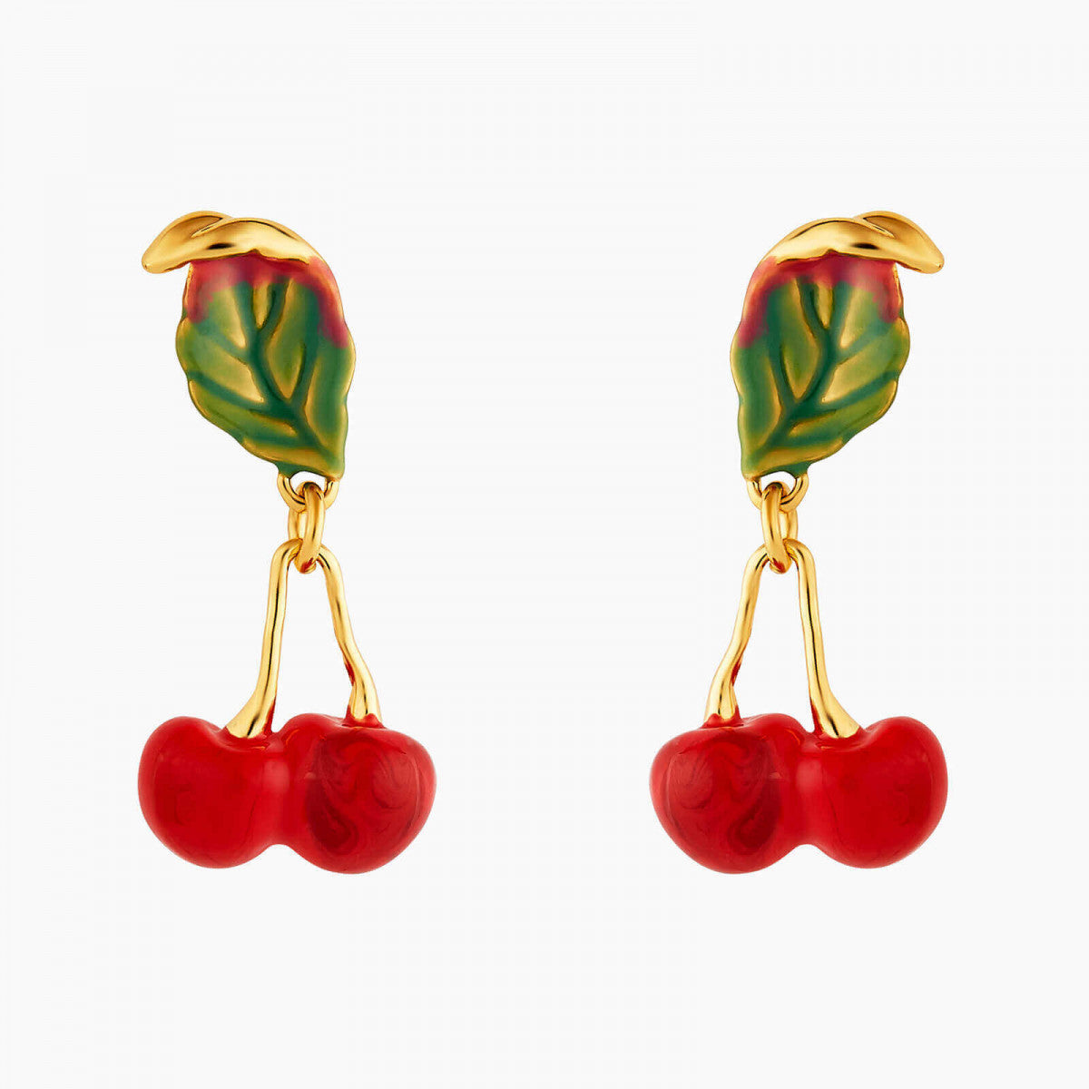 Small Cherries Post Earrings