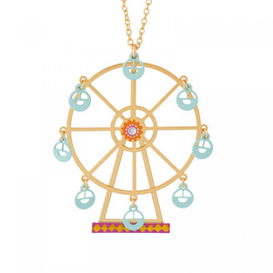 The Magic Big Wheel Long Necklace by N2