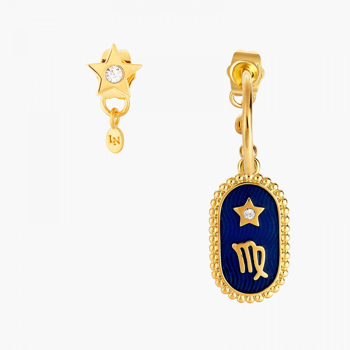 Libra Zodiac Sign Stud Earring
